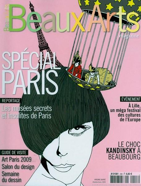 Beaux arts magazine d'avril 2009