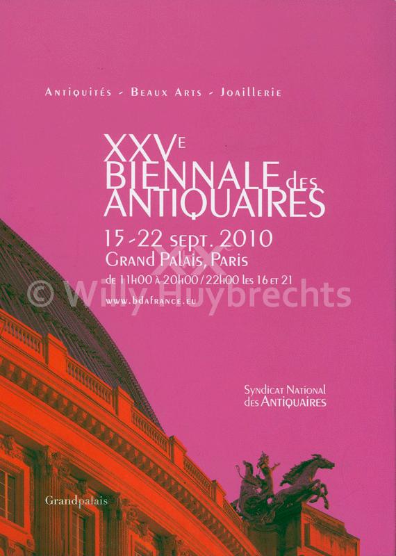 Biennale des Antiquaires 2010