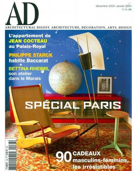 Architectural Digest Janvier 2004