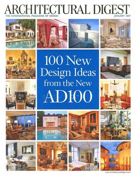 Architectural Digest Janvier 2007