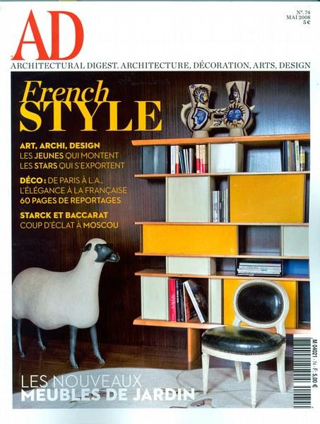 Architectural Digest Mai 2008