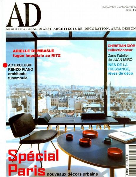 Architectural Digest Octobre 2005