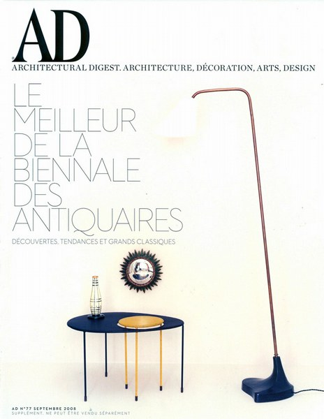 Architectural Digest Septembre 2008