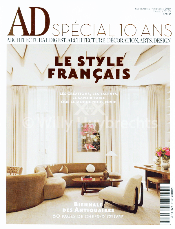 Architectural Digest Septembre 2010