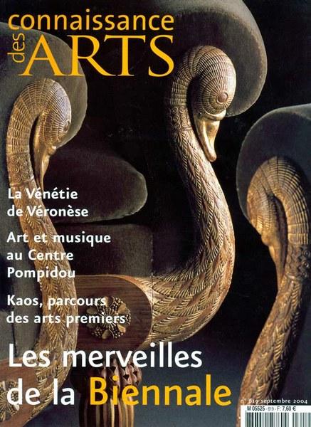 Connaissance des Arts Septembre 2004