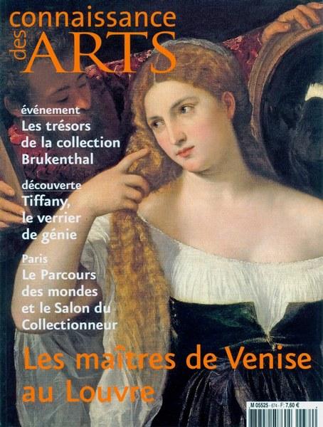 Connaissance des Arts Septembre 2009