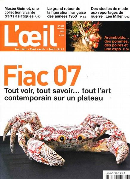 L'Oeil Octobre 2007