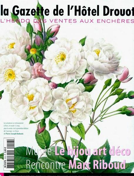 La Gazette de l'Hôtel Drouot avril 2009
