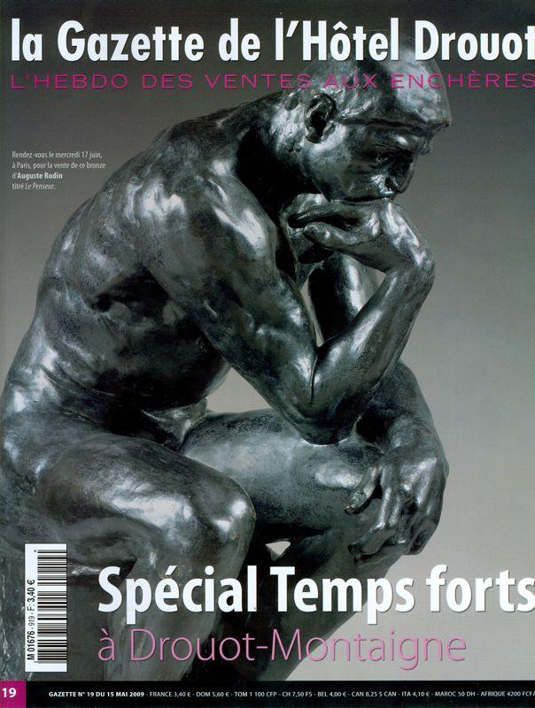 La Gazette de l'Hôtel Drouot mai 2009