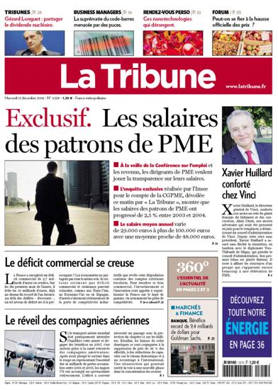 La Tribune Septembre 2008