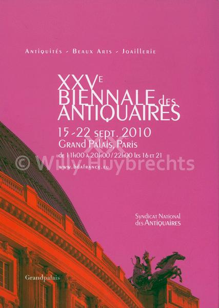 XXVe Biennale des Antiquaires