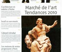 Journal des Arts - Septembre 2010